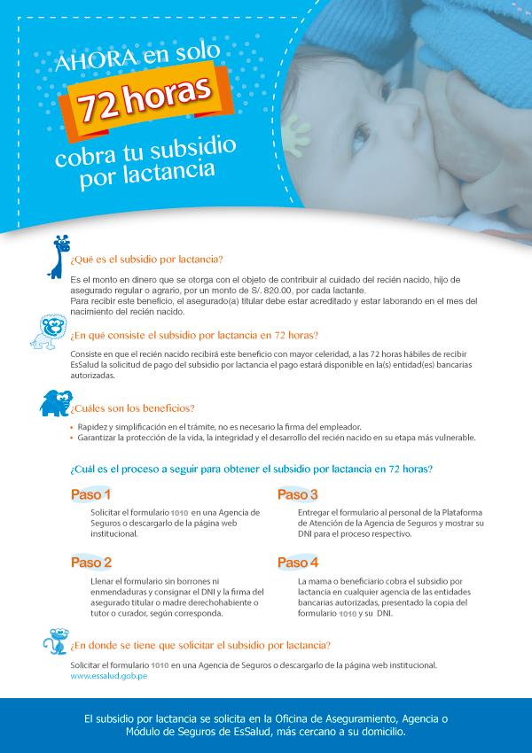 subsidio-lactancia-peru-72-horas