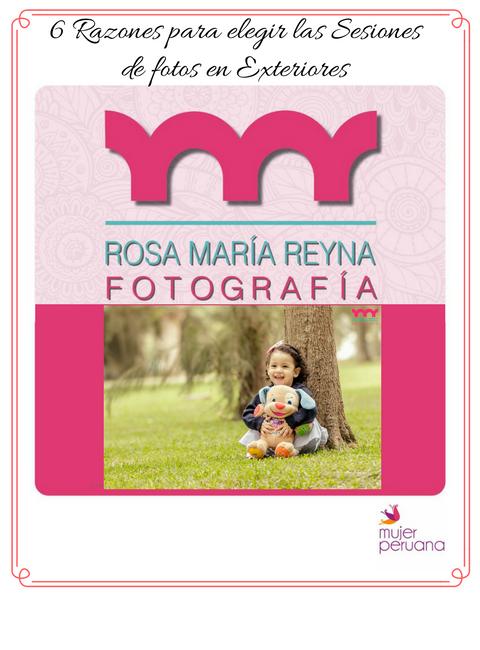 Fotos en exteriores para niños y grandes: Rosa María Reyna Fotografía