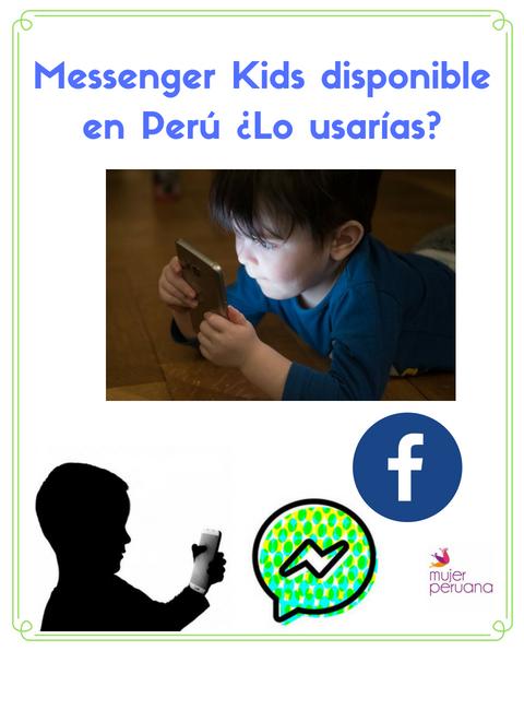 Messenger Kids de Facebook ya se puede descargar en Perú